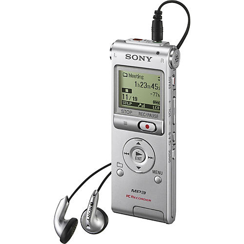 Sony ICDUX200 Digital Flash Voice Recorder