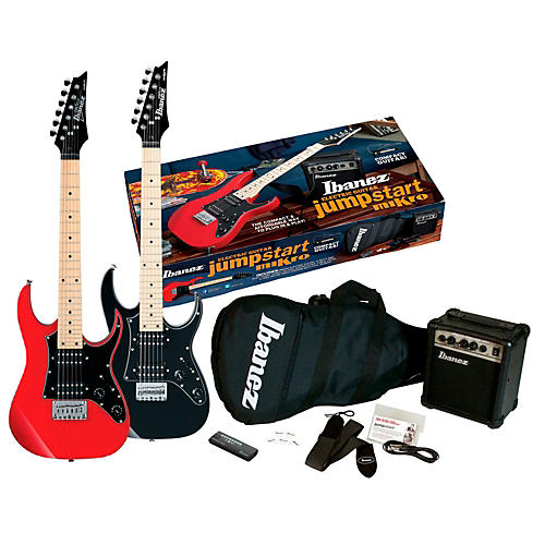 ibanez ijm21m jumpstart mikro electric guitar package musician 39 s friend. Black Bedroom Furniture Sets. Home Design Ideas