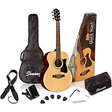 Open Box Ibanez IJVC50 Jampack Grand Concert Acoustic Guitar Pack