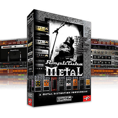 IK Multimedia IK AmpliTube 2 Metal Software Download