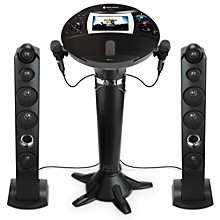 Open Box The Singing Machine ISM1060BT Hi-Def Pedestal Karaoke System