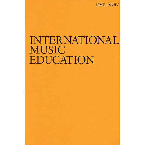 Schott ISME Yearbook IV - 1977 (English Edition) Schott Series