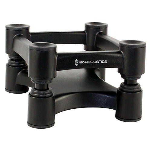 IsoAcoustics ISO-L8R130 Small Studio Monitor Stands - Pair