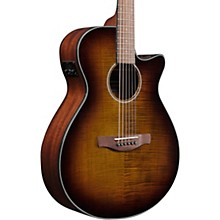 Ibanez Ibanez AEG70 Grand Concert Acoustic/Electric Guitar Flamed Maple Top