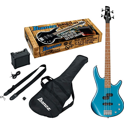 Ibanez Ibanez IJSR190N Electric Bass Jumpstart Pack Metallic Light Blue