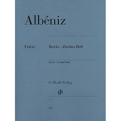 G. Henle Verlag Iberia - Second Book Henle Music Folios Series Softcover