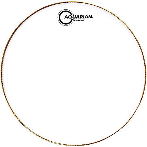 Aquarian Ice White Reflector Drum Head