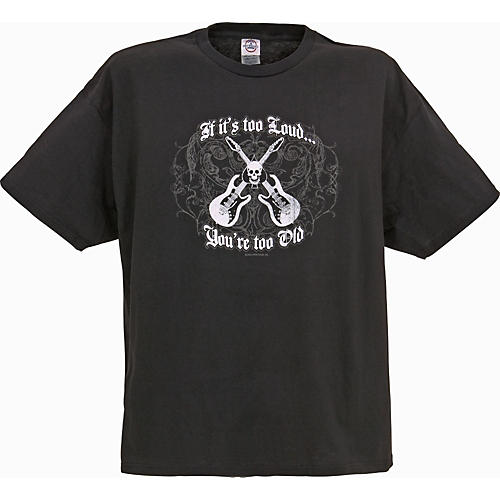 Gear One If It's Too Loud Guitar T-Shirt