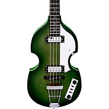 Ignition LTD Violin Electric Bass Guitar 70's Green
