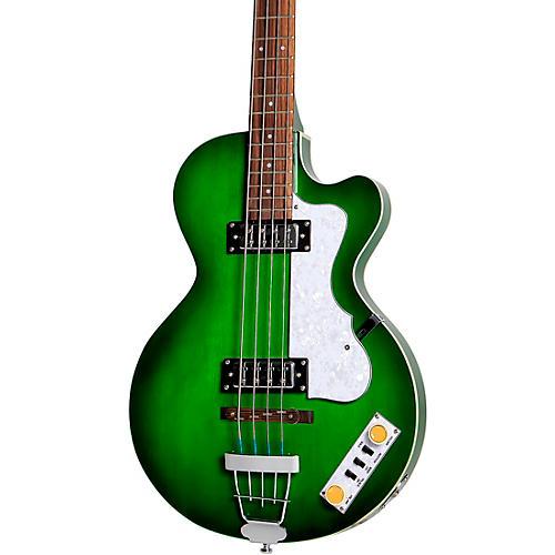 Hofner Ignition Series Club Bass Green Burst