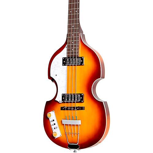 Hofner Ignition Series Left-Handed Violin Bass Sunburst