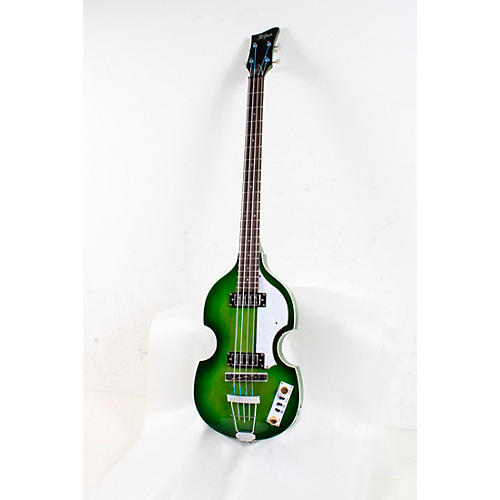 Hofner Ignition Series Violin Bass Condition 3 - Scratch and Dent Green Burst 194744407079