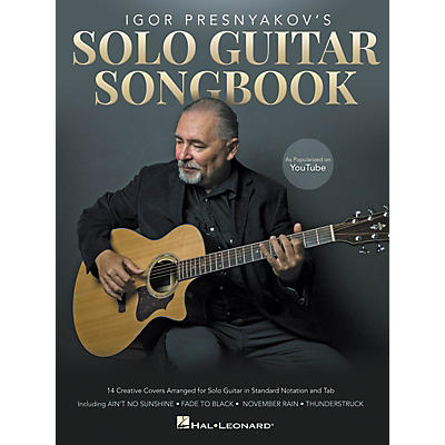 Hal Leonard Igor Presnyakov's Solo Guitar Songbook (As Popularized on YouTube)