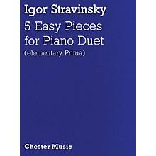 Music Sales Igor Stravinsky: Five Easy Pieces Music Sales America Series