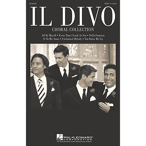Hal Leonard Il Divo (Choral Collection) TTBB Collection by Il Divo