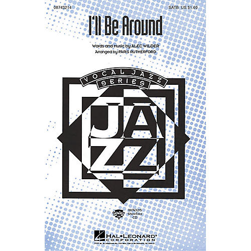 Hal Leonard I'll Be Around ShowTrax CD Arranged by Paris Rutherford