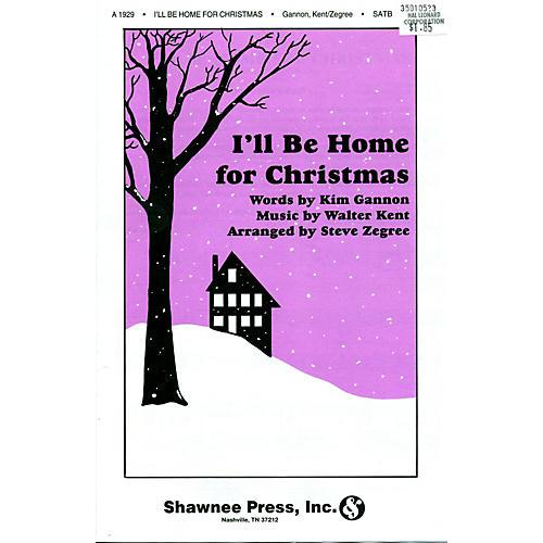 Hal Leonard I'll Be Home For Christmas SATB
