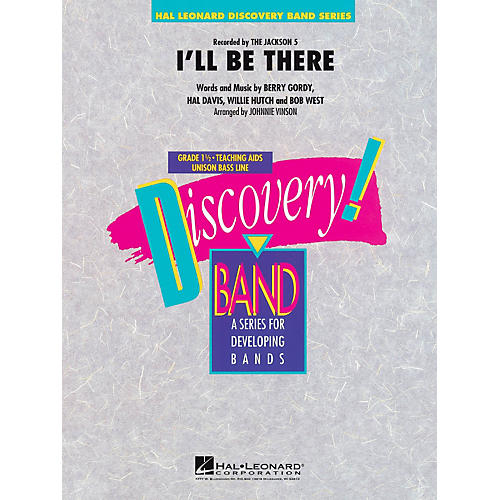 Hal Leonard I'll Be There - Discovery! Band Level 1.5