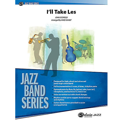 Alfred I'll Take Les Jazz Band Grade 3 Set