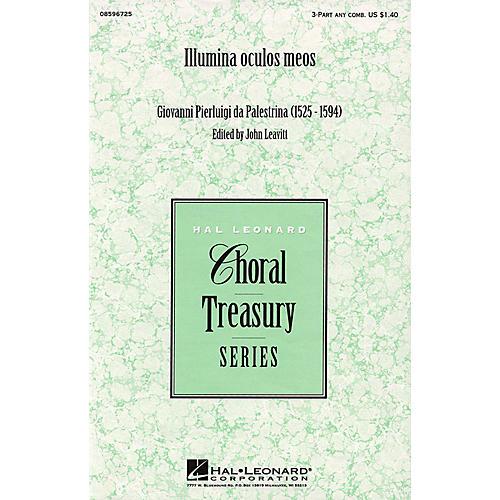 Hal Leonard Illumina oculos meos 3 Part Any Combination arranged by John Leavitt