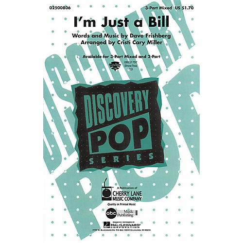 Hal Leonard I'm Just a Bill ShowTrax CD Arranged by Cristi Cary Miller