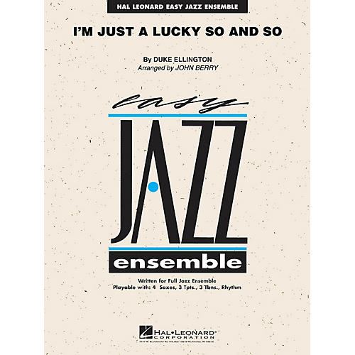 Hal Leonard I'm Just a Lucky So and So Jazz Band Level 2 by Duke Ellington Arranged by John Berry