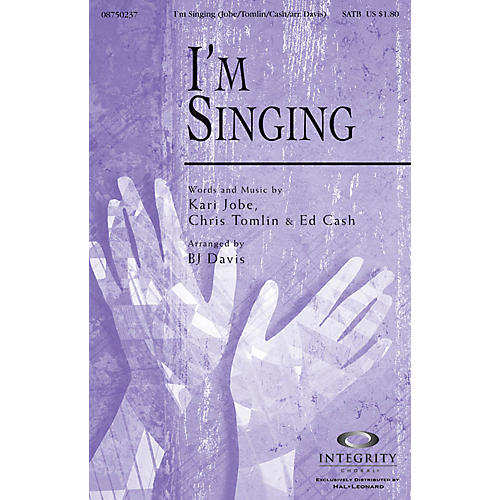 Integrity Choral I'm Singing CD ACCOMP Arranged by BJ Davis