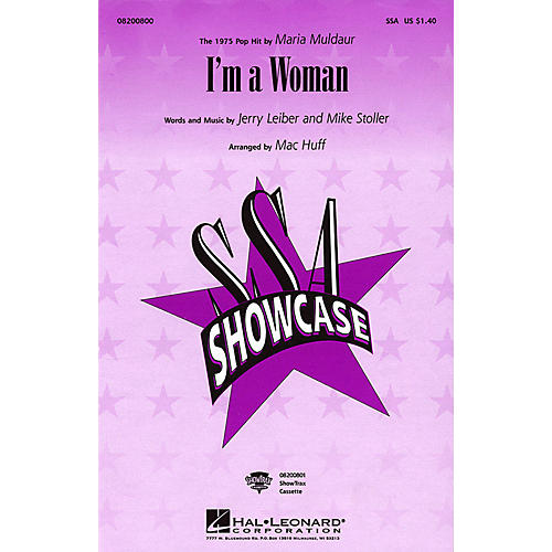 Hal Leonard I'm a Woman SSA by Maria Muldaur arranged by Mac Huff