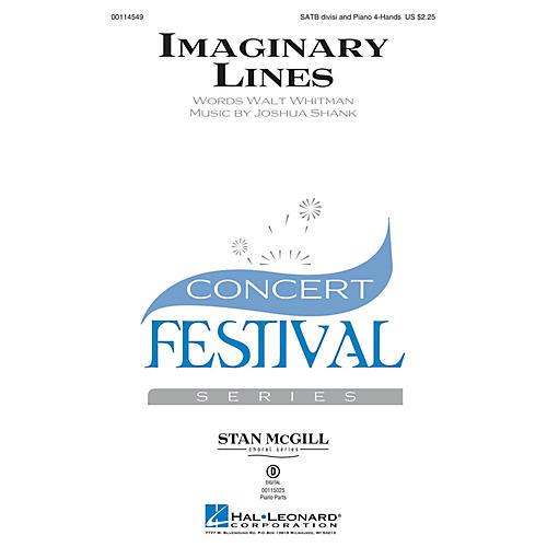 Hal Leonard Imaginary Lines (Stan McGill Choral Series) SATB composed by Joshua Shank