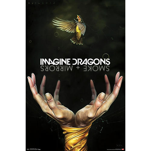 Trends International Imagine Dragons - Smoke