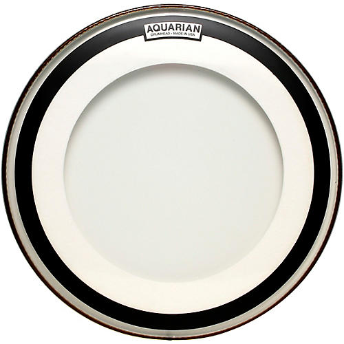 Aquarian Impact Clear Double Ply Bass Drum Head 20 in.