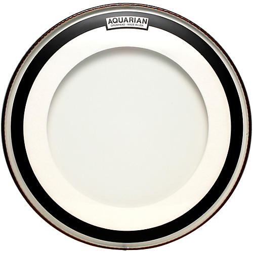 Aquarian Impact Clear Double Ply Bass Drum Head 22 in.