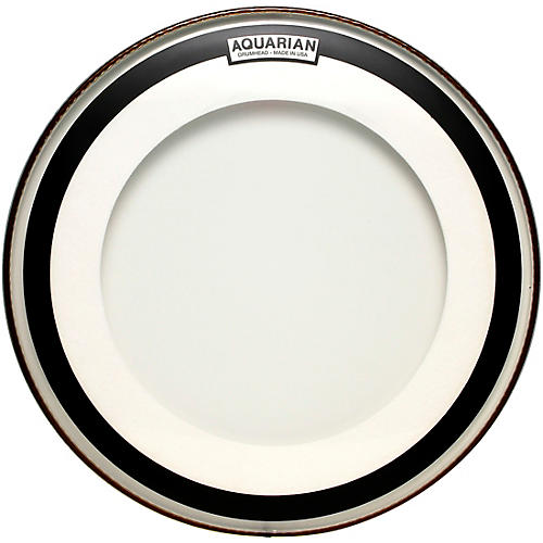 Aquarian Impact Clear Double Ply Bass Drum Head 24 in.
