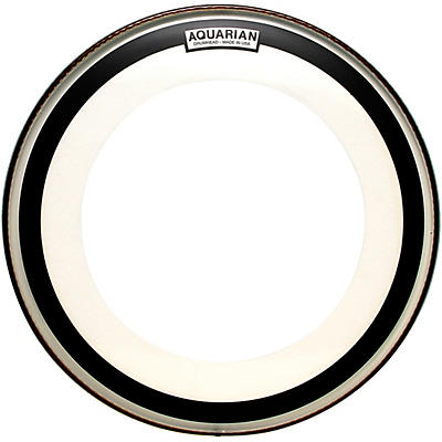 Aquarian Impact Clear Single Ply Bass Drum Head