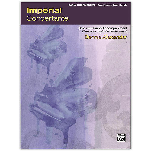 Alfred Imperial Concertante 2 copies required Early Intermediate