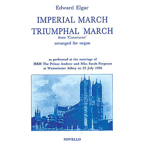 Novello Imperial March and Triumphal March for Organ Music Sales America Series