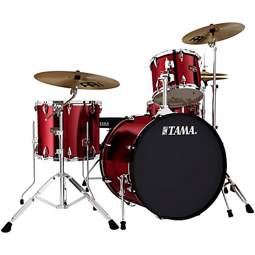 TAMA Imperialstar 4-Piece Drum Kit with Cymbals