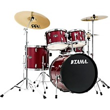 TAMA Imperialstar 5-Piece Complete Drum Set with Meinl HCS cymbals and 20 in. Bass Drum