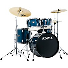Imperialstar 5-Piece Complete Drum Set with Meinl HCS cymbals and 20 in. Bass Drum Hairline Light Blue
