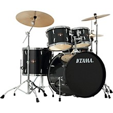 Imperialstar 5-Piece Complete Kit with Meinl HCS Cymbals Hairline Black