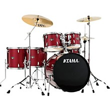 Imperialstar 6-Piece Complete Drum Set with Meinl HCS Cymbals and 22