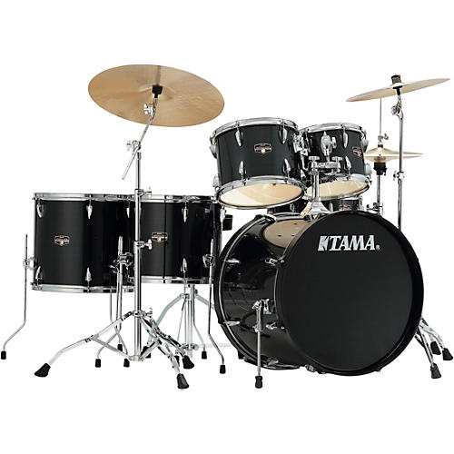 TAMA Imperialstar 6-Piece Complete Drum Set with Meinl HCS Cymbals and 22