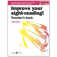 Faber Music LTD Improve Your Sight-Reading! Piano (Teacher's Book) Grades 1-5