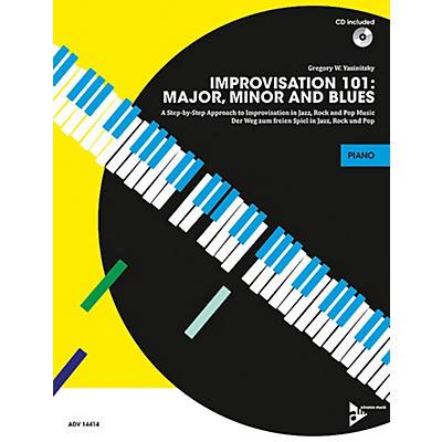 Alfred Improvisation 101: Major, Minor, and Blues Piano/Keyboard Book & CD
