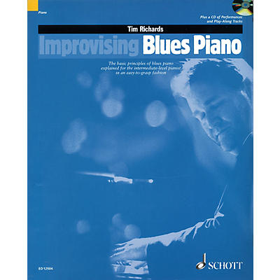Schott Improvising Blues Piano Schott Series