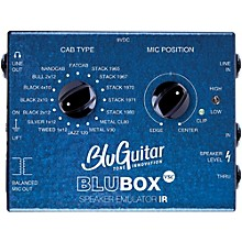 Open BoxBluGuitar Impulse Response Speaker Emulator Pedal