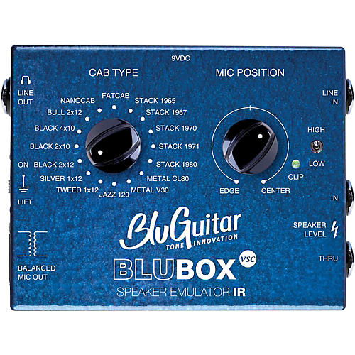 BluGuitar Impulse Response Speaker Emulator Pedal