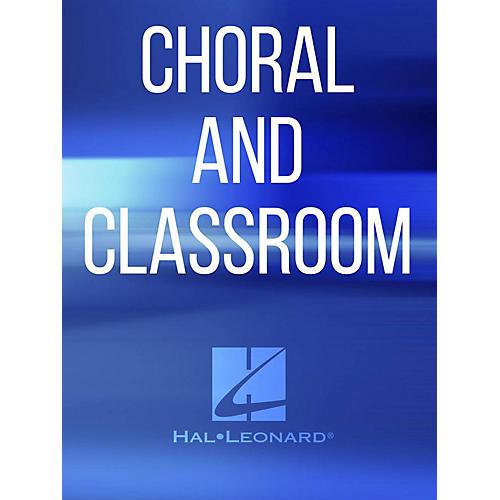 Hal Leonard In A Manger Lowly Lay TTBB Composed by Vijay Singh
