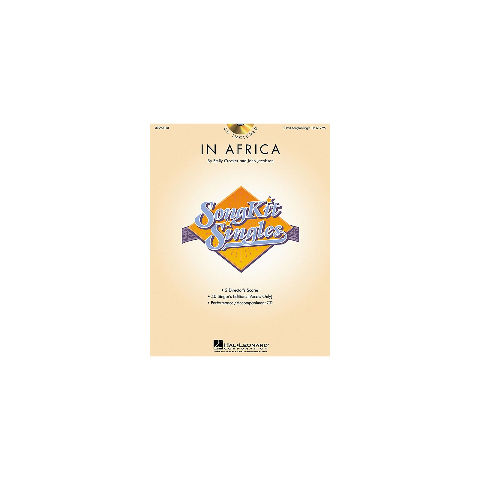 Hal Leonard In Africa (SongKit Single) 2-Part Composed by John Jacobson