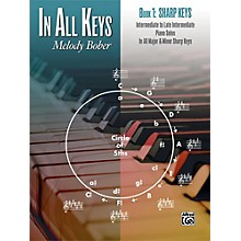 Alfred In All Keys, Book 1: Sharp Keys Intermediate / Late Intermediate